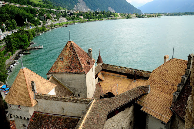 chateau chillon leman switzerland