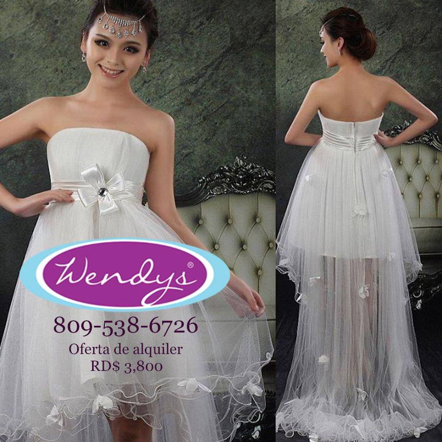 Vestidos de boda civil alquiler