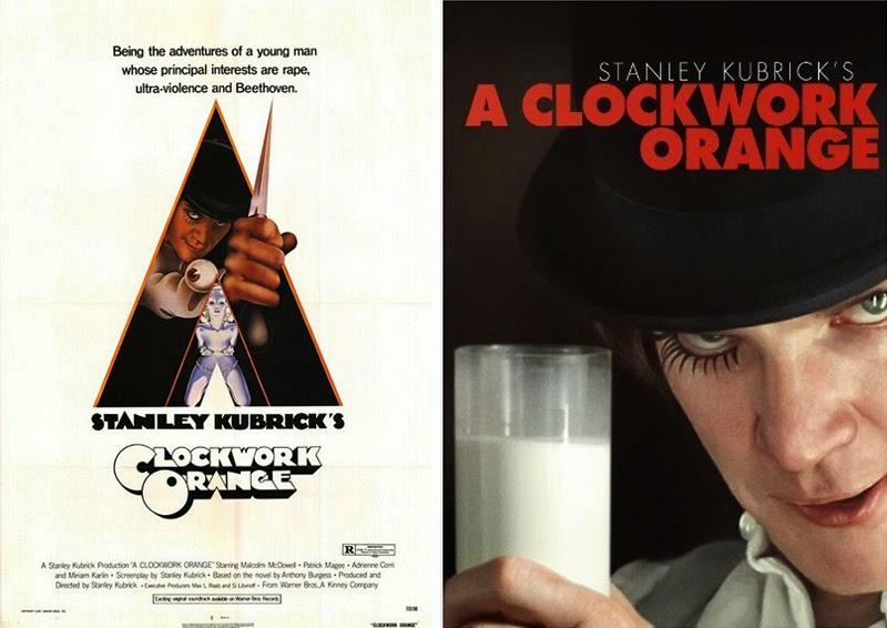 historia del cine a través de los carteles_A Clockwork Orange