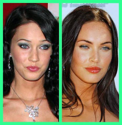 Megan Fox Before After