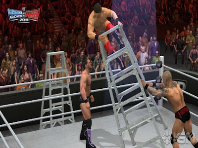 WWE Smackdown vs Raw 2011 Jeux