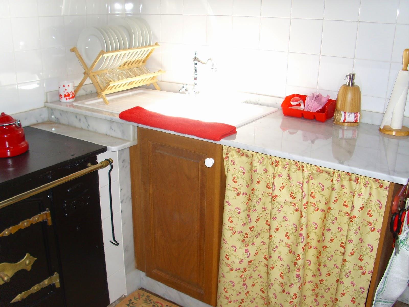 Cortinas para muebles de cocina for Cortinas para muebles de cocina
