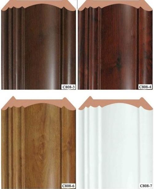 Phào trần, Phào ốp trần bằng gỗ tự nhiên, Nẹp trần nhựa