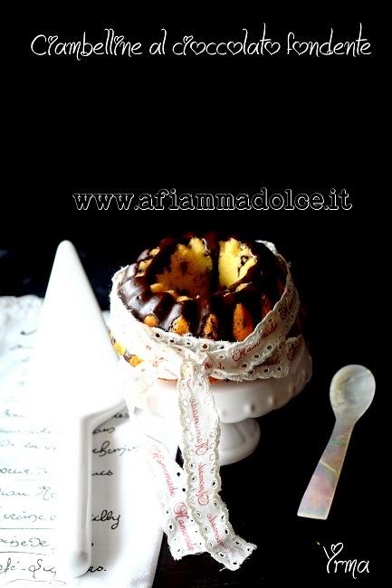 ciambelline al cioccolato fondente senza lattosio