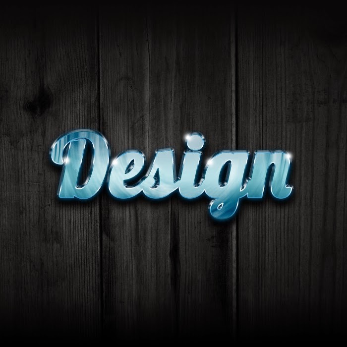 Ultra Glossy Text Effect
