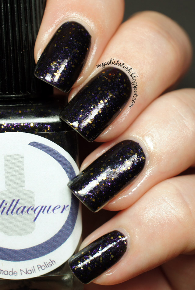 Fireflies Cadillacquer manicure