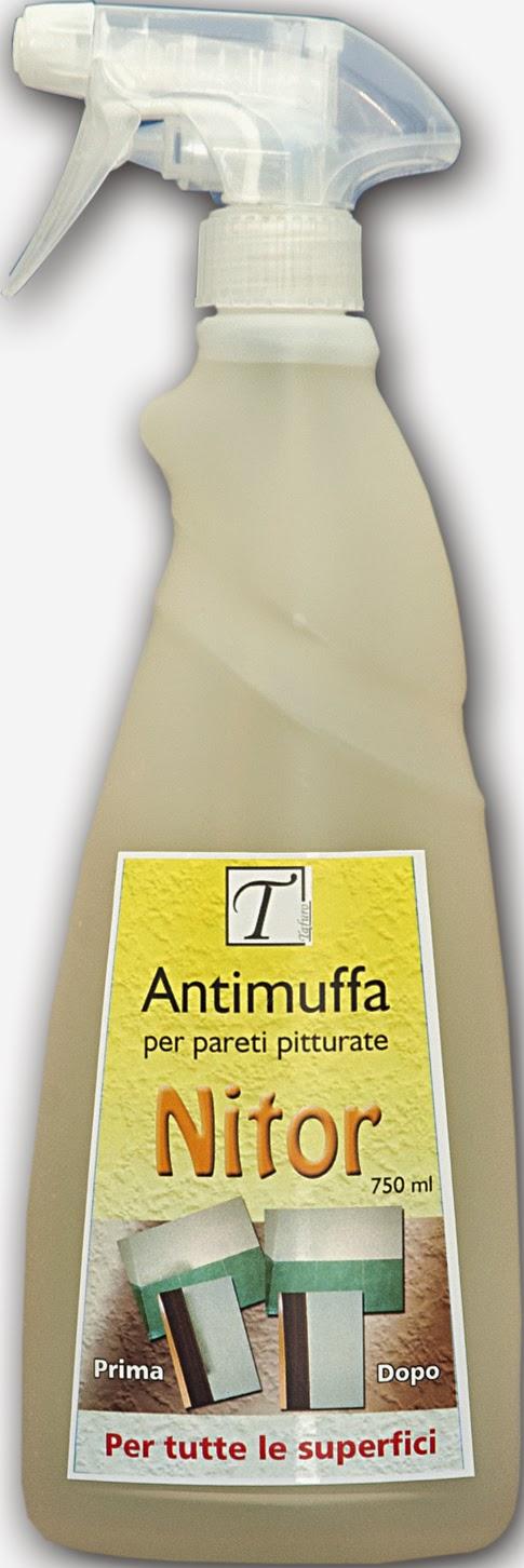 Nitor antimuffa per pareti pitturate ed altre superfici for Antimuffa per pareti