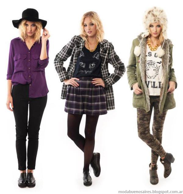 Ropa de moda 2014: Indiga colección otoño invierno 2014 - Moda otoño invierno 2014.