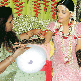 Aishwarya Rai Marriage Mehndi