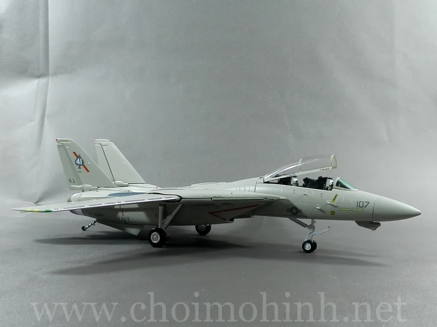 F-14A Tomcat VF-41 Black Aces AJ-107 1:72 Witty Wings side