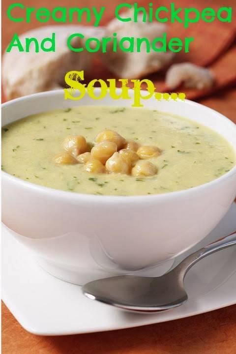 how to make coriander soup