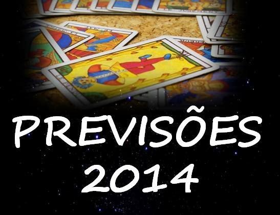 Previsões 2014 - Por Margarida Fernandes