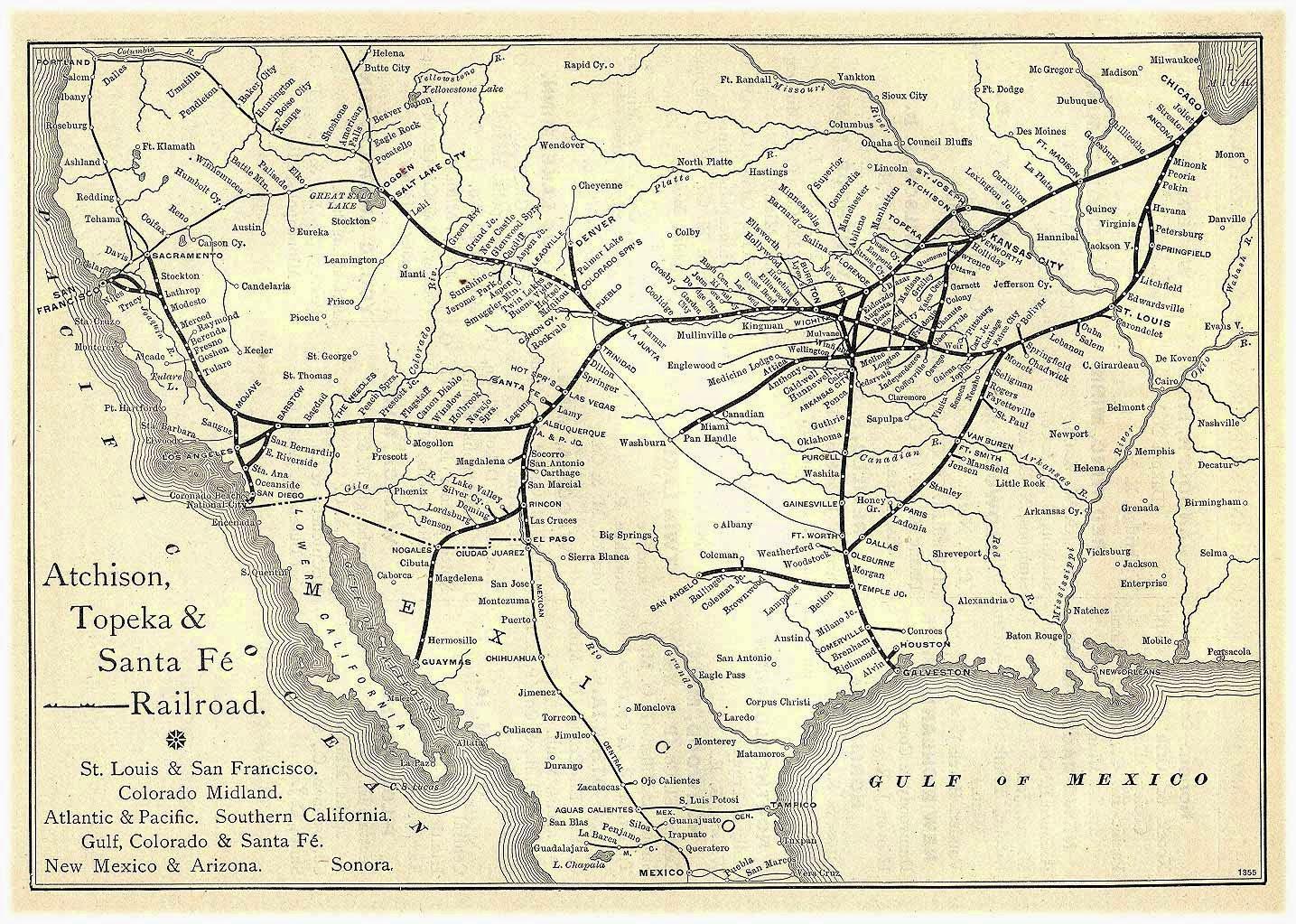atchison topeka and santa fe railway