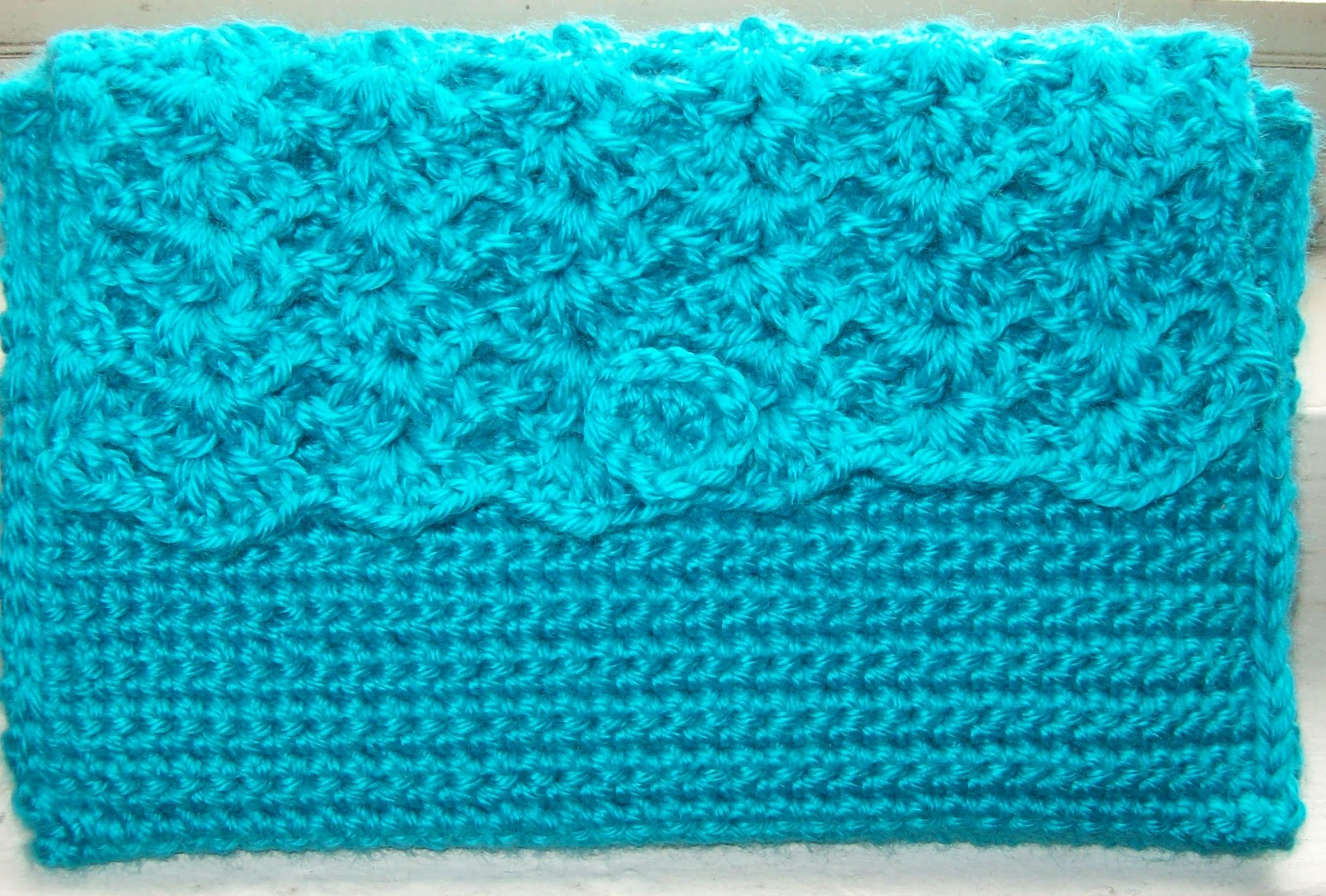 The Philosophers Wife: Crochet Kindle Cover (or a Clutch)