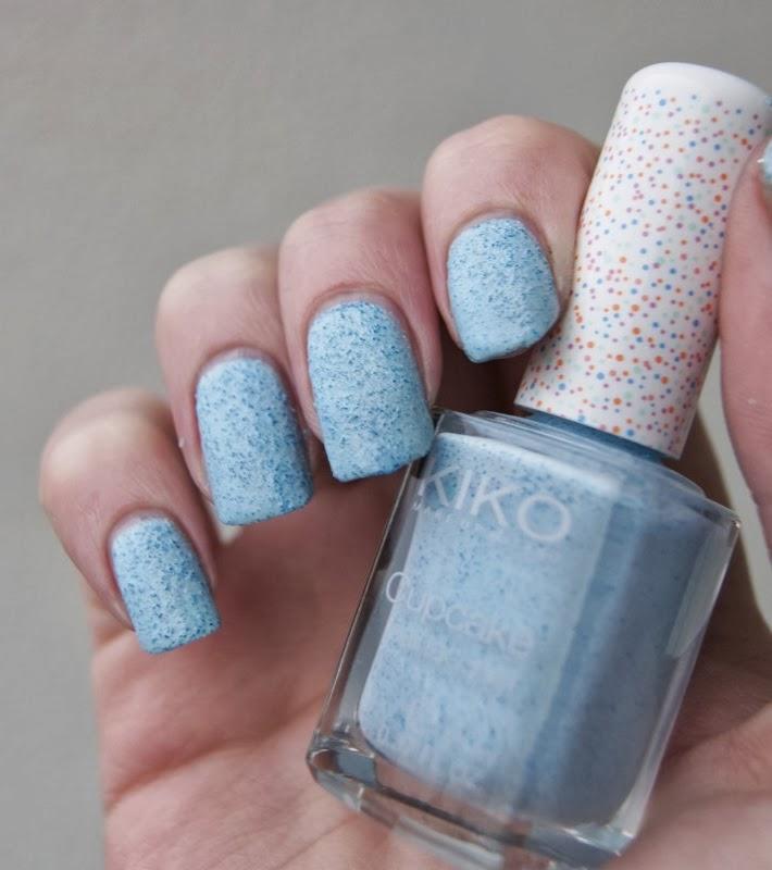 kiko cupcake bleu anice