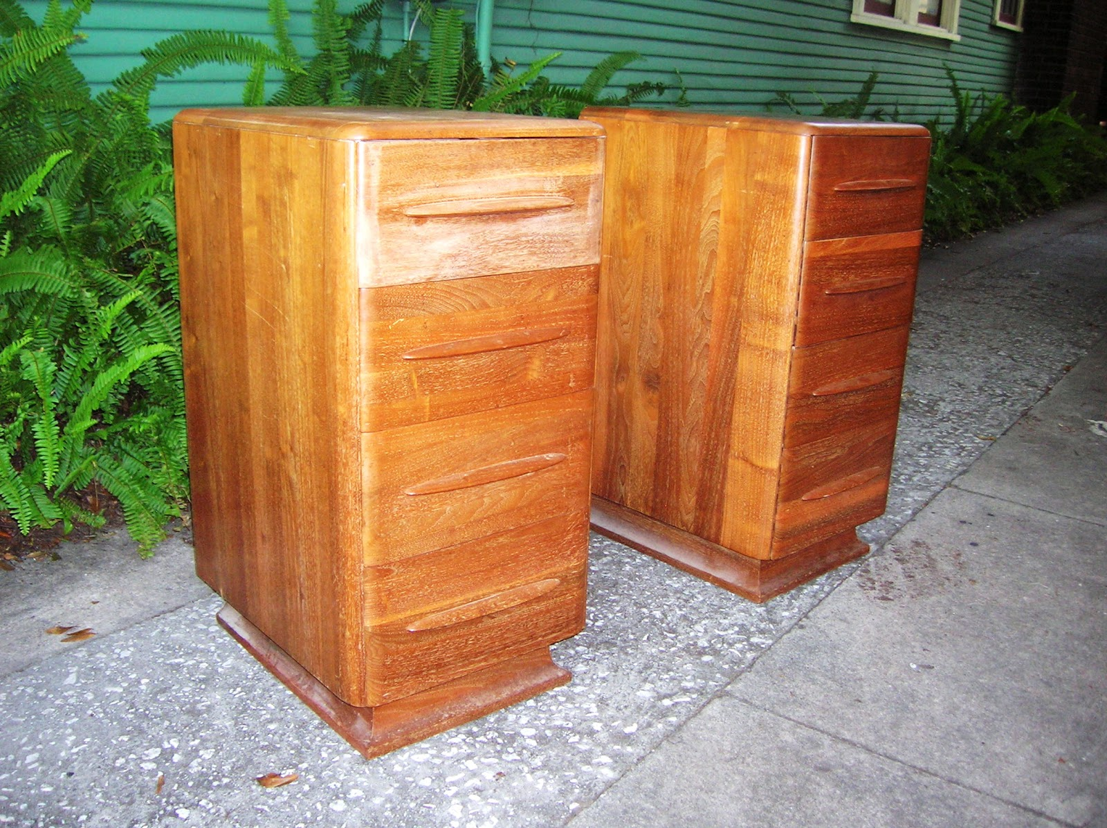 funky furniture and stuff. Finish Was Mostly Intact But A Little Too Rough To Market As-is. These Are Some Tall Pieces For Nightstands @ 32\ Funky Furniture And Stuff T