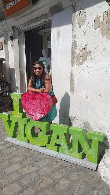 I love Vigan