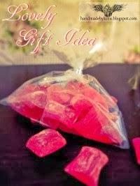 Homemade peppermint candies