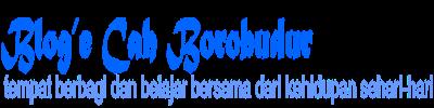 Blog'e Cah Borobudur