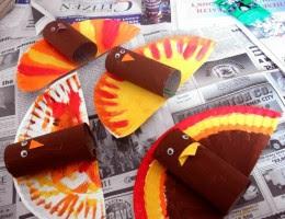 Cara Membuat Kerajinan Tangan Sederhana, Mainan Ayam Kalkun