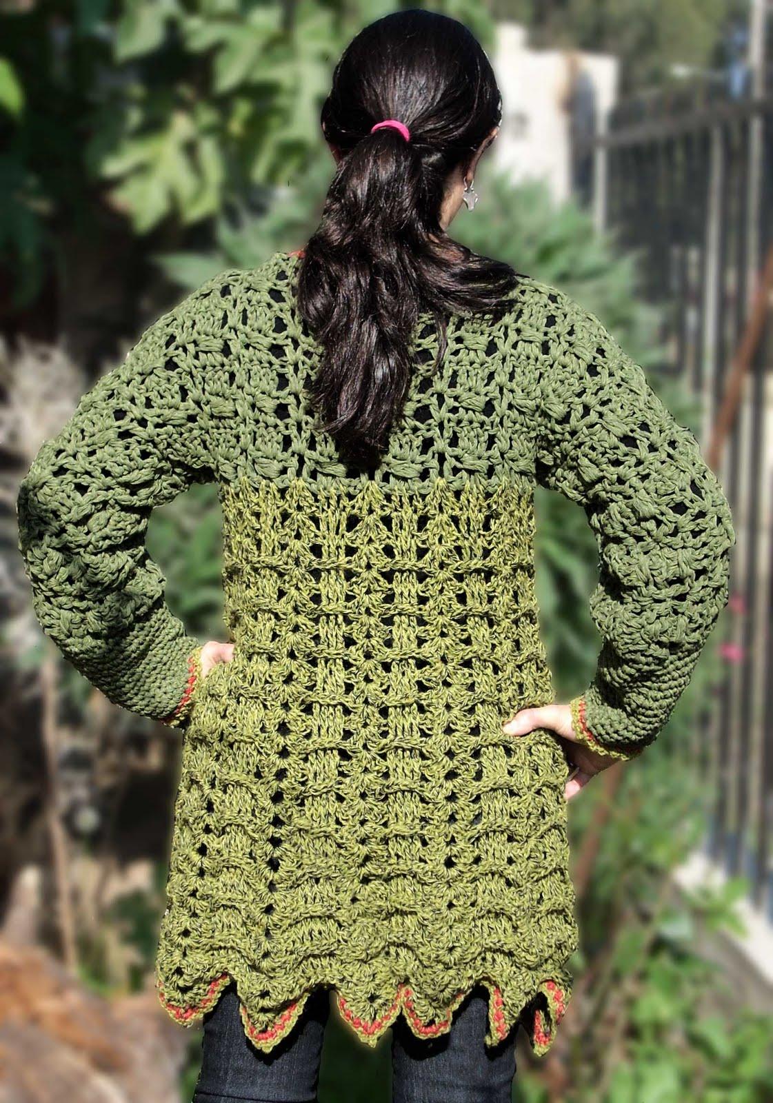 Chalecos Tejidos En Crochet