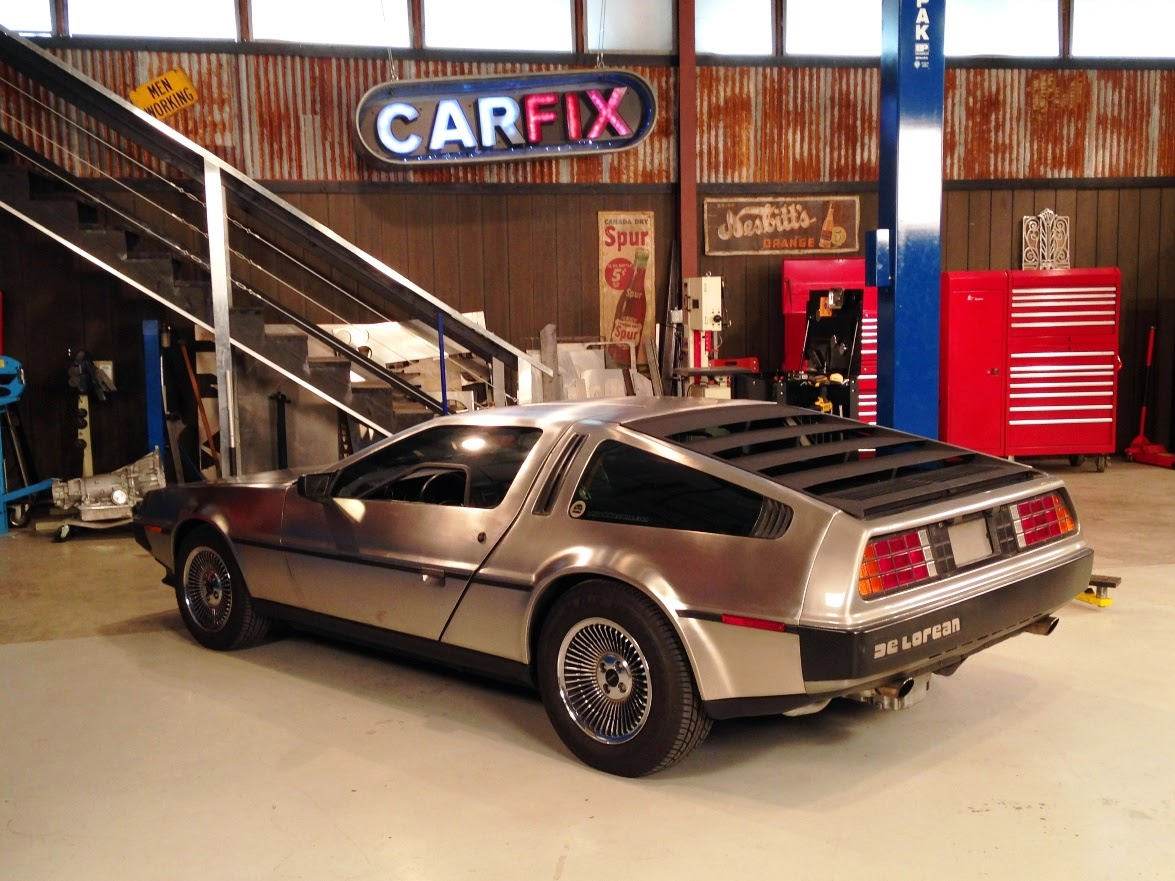 Featured On Car Fix Tv Show On Velocity Netowrk Ls1 Delorean