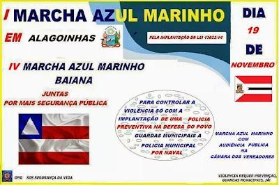 MARCHA AZUL MARINHO
