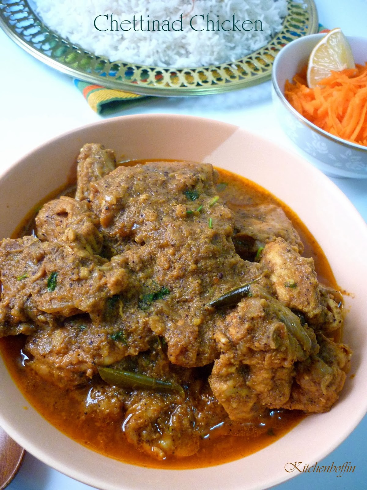 Kitchen boffin chicken chettinad for Anjappar chettinad south indian cuisine