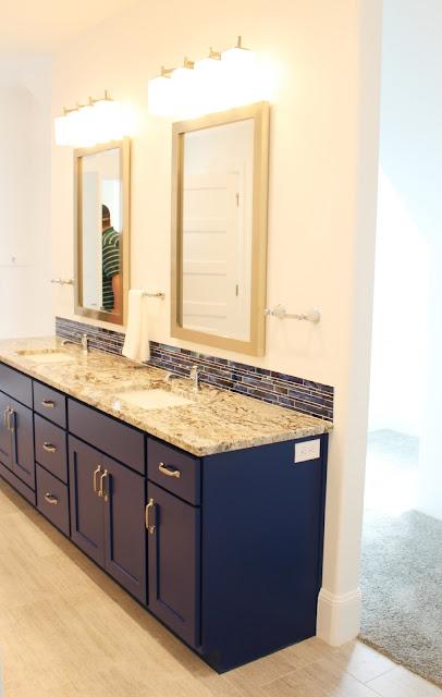 Boys bathroom vanity color