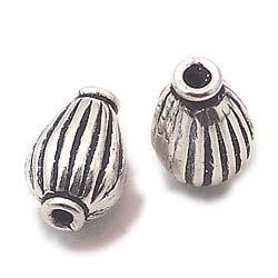 Tabor Shape Stamped Assortment Beads