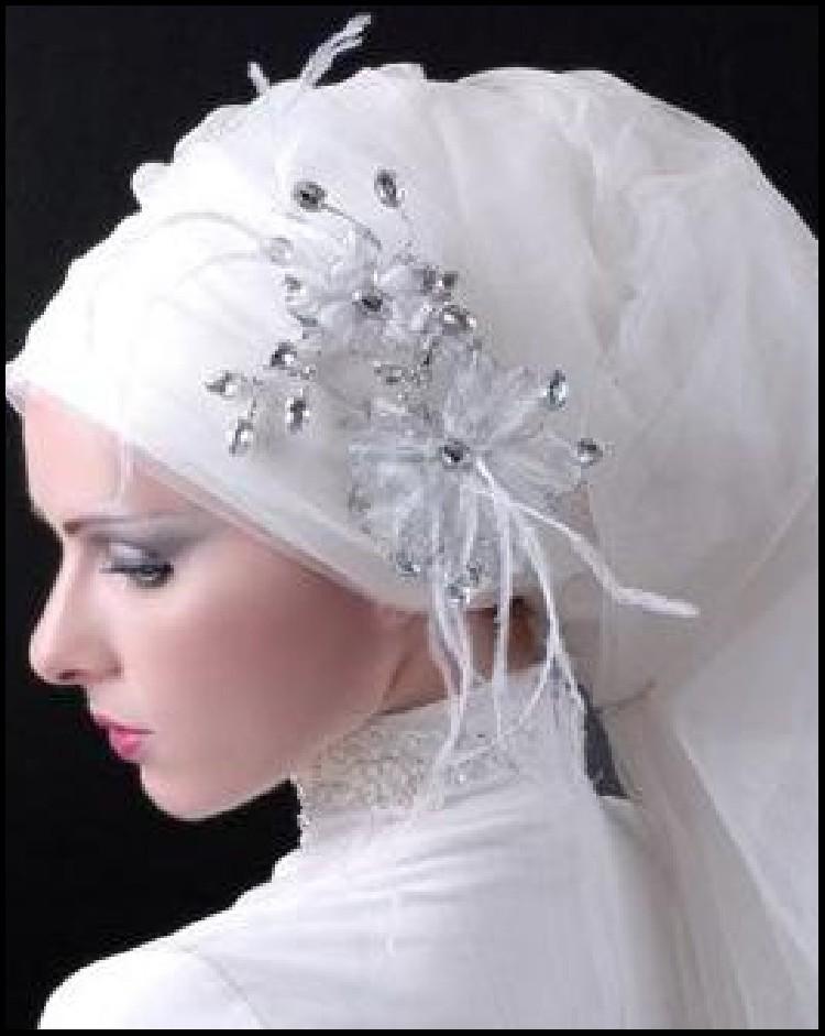 WEDDING COLLECTIONS: Wedding Hijab Fashion Trend 2013