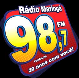 Rádio Maringá 98 FM de Pombal PB ao vivo