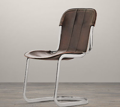 modern soft leather kitchen chair design