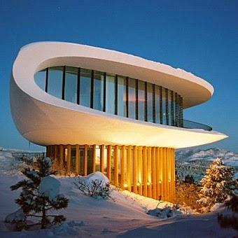 Sleeper House obra residencial moderna futurista