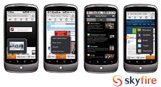 Skyfire Web Browser 4.1.0 apk, aplikasi browser untuk android