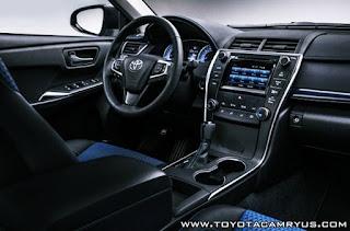 2016 Toyota Camry SE Special Edition Review Interior