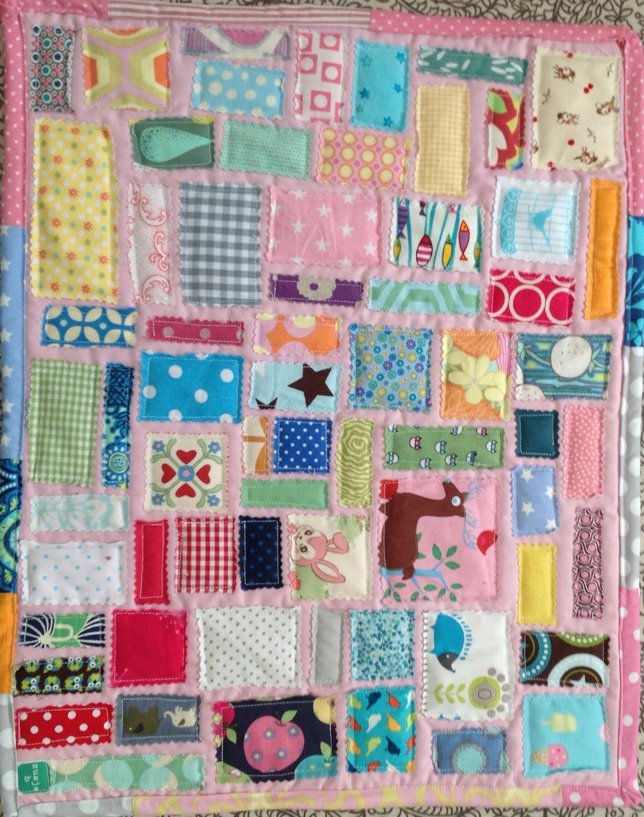 Zelfgemaakt van mij voor jou poppendeken net echte quilt for Quilt maken met naaimachine