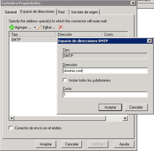 El blog de badboy zimbra and exchange coexistence on a for Zimbra mail ministerio del interior