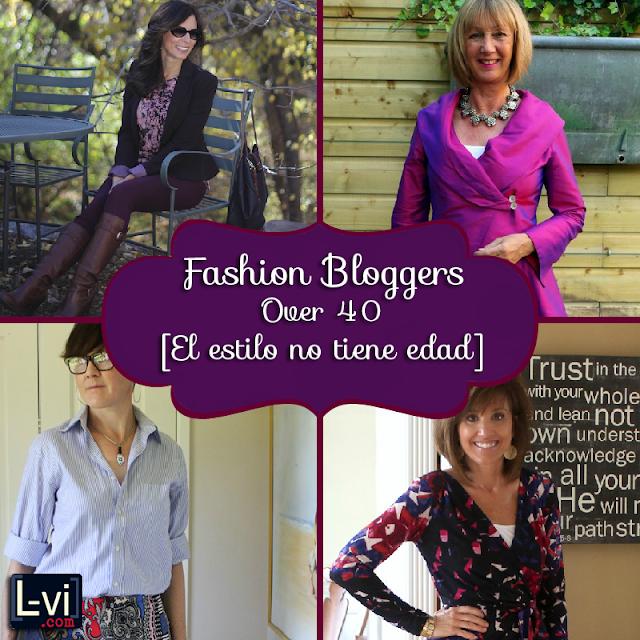 Ageless style: Fashion Bloggers over 40 / El estilo no tiene edad  by LuceBuona