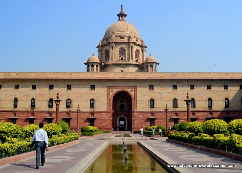 Secretariat Building along Rajpath New Delhi