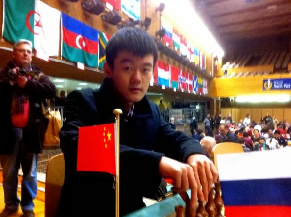 Ding Liren à l'Open d'échecs de Cappelle - Photo © Chess & Strategy
