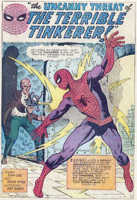 Amazing Spider-Man #2, the Terrible Tinkerer, Steve Ditko