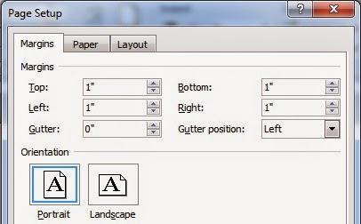 Cara merubah setting Inci menjadi Centimeter di Ms. Word