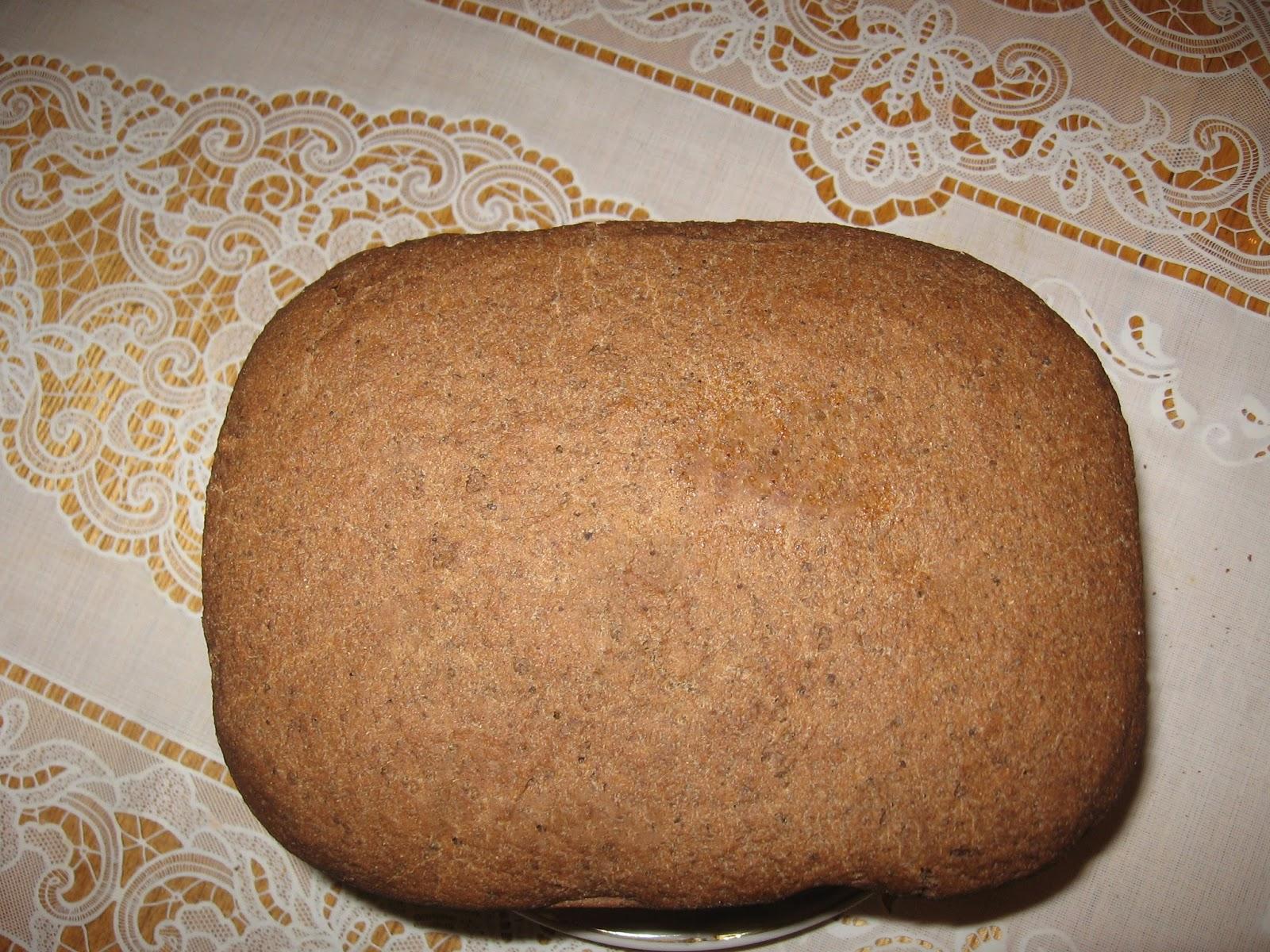 Хлеб в домашних условиях с отрубями 422