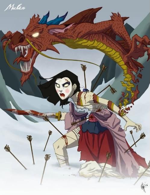 Angelas Anxious Life Project Disney Mulan