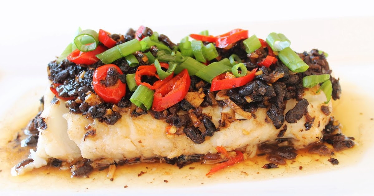 how to cook steamed cod fish