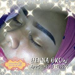 INAI KENING HALAL @ HENNA BROW @RM28