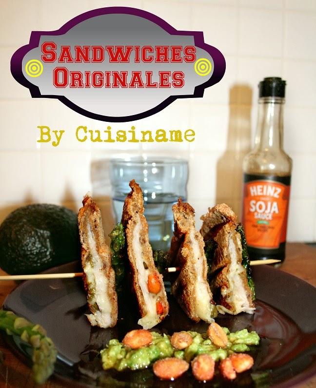 sándwiches, sandwiches y bocadillos, aguacate, cacahuetes, salsa de soja, recetas originales, recetas light, recetas de cocina, yummy recipes, blog cocina, humor