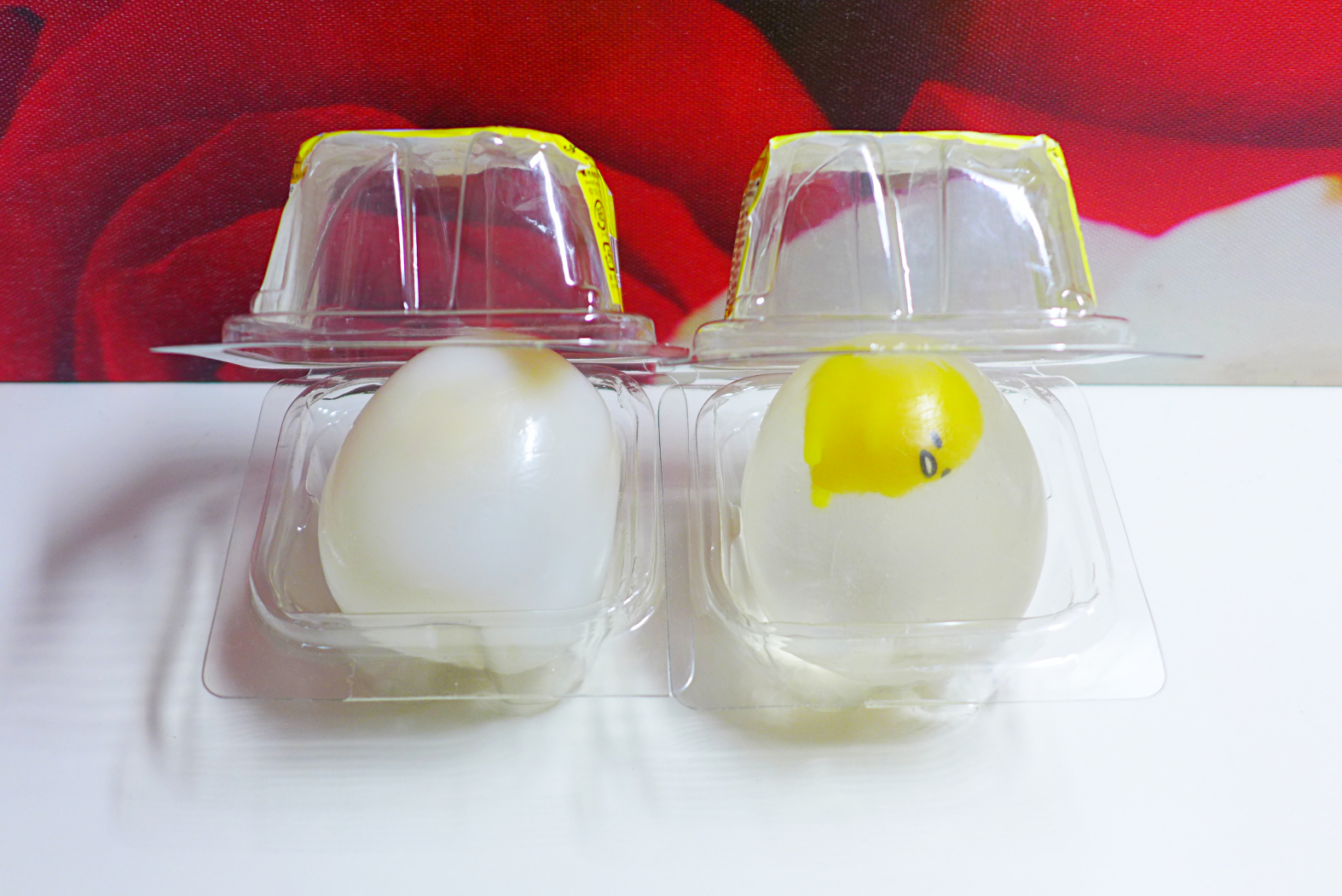 Sue s Cutie Closet : Squishy Update & Video Close-Up: Gudetama Water Egg Squishy
