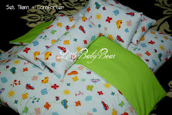 BABY MATRESS N' BLANKET SET